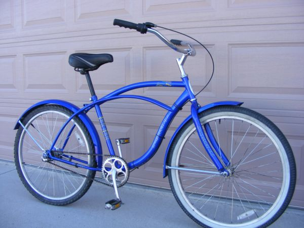 mens blue Schwinn Delmar with Nexus 3-speed hub - $100 (Wickenburg)