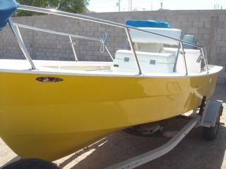 REDUCED 1998 Panga Baja Custom Center Console 186 Blackman Built - $6300 (Cholla Bay,  Rocky Point, Mx)