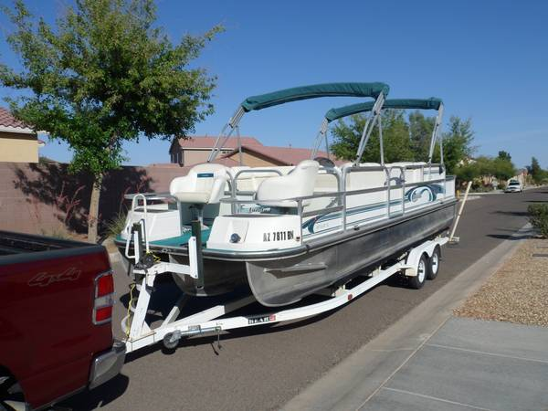 Pontoon Tritoon - $12500 (SURPRISE)