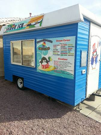 shave ice concession trailer  - $15000 (peoria )