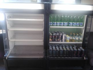 2 True Refrigeration stand up lighted coolers - $495 (Scottsdale rd and 101)