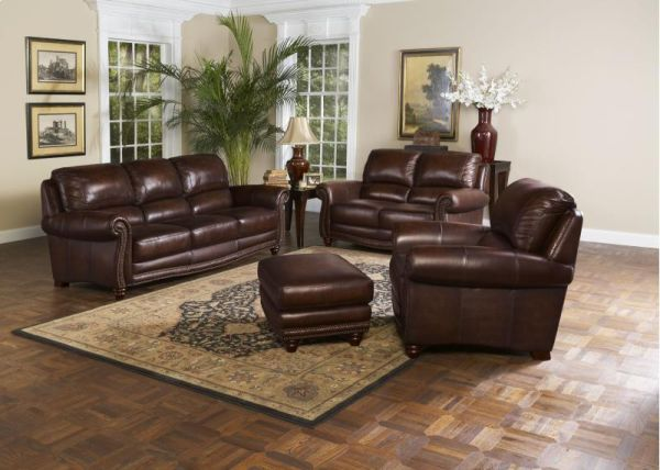 Brand New Leather Italia 4 Piece Living Room Set  SALE  - $2500 (Mesa-Select Appliance)