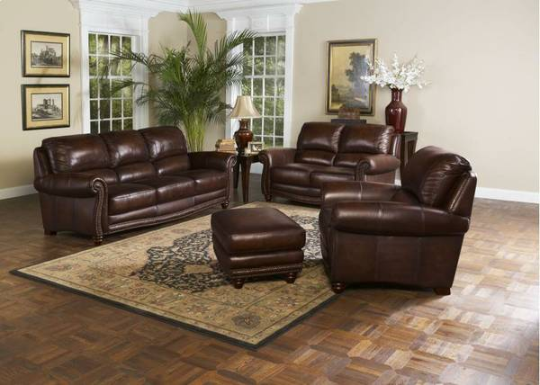 Brand New Leather Italia Couch  SALE ALL WEEK  - $999 (Mesa-Select Appliance)