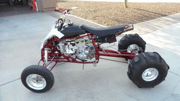 YFZ450 250LB 8MIL STROKER DRAG RACE BIKE  (west side) - $5500 (PRESCOTT)
