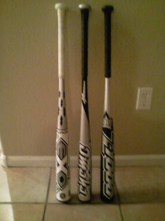 Like new TPX bats - $75 (Gilbert)