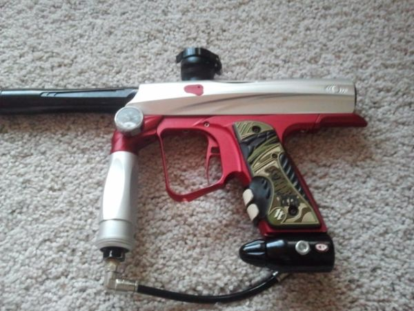 Upgraded Shocker NXT Paintball gun - $225 (Ahwatukee)