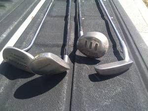 Golf Clubs Oddyssey Adams Macgregor Tight Lies - $1 (East Mesa)