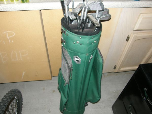 Golf Bag with Ladys Clubs - $45 (Mesa)