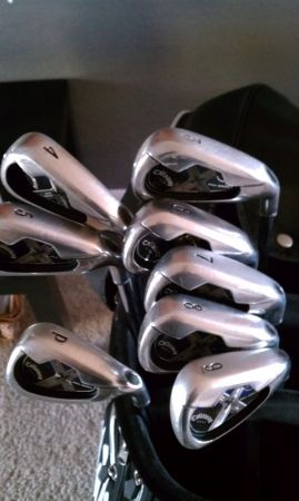 callaway x18 pro series irons 3-pw - $300 (peoriaglendale )