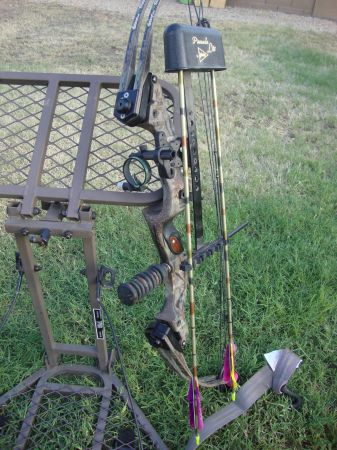 Hoyt Rapter Compound Bow - $375 (16 th st  bell rd)