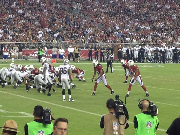 Cardinals vs Colts 5TH ROW Wont last long  this price - $1 (Great Seats, you wont be disappointed)