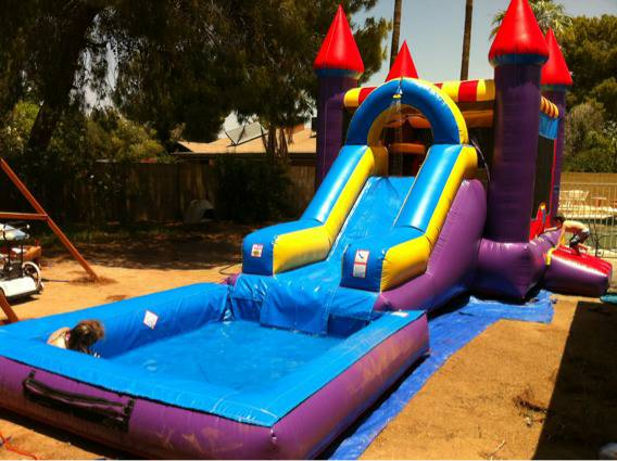 Bounce House Slide Combo, Jumpers, Tables  Chairs for rent - $185 (Mesa)