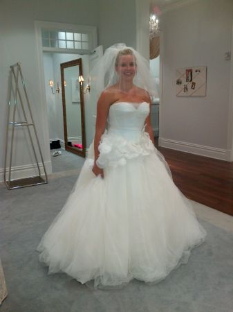 Brand New Vera Wang Wedding Dress - $800 (Chandler)