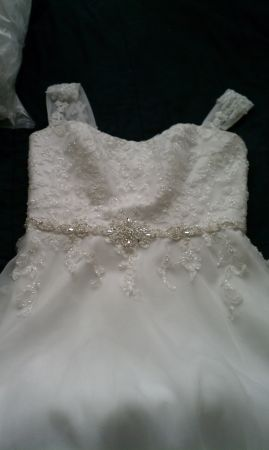 Davids Bridal Wedding Dress  - $200 (Chandler)