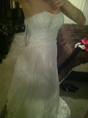 Wedding dress size 2  - $350 (Chandler)