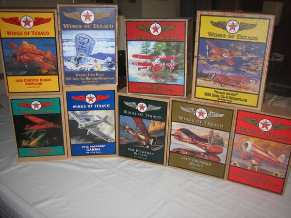 Texaco Airplanes collectible Wings of Texaco Series 1-9 - $225 (North Phoenix)