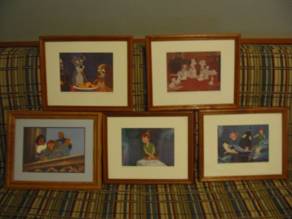 DISNEY LITHOGRAPHS (East Valley)