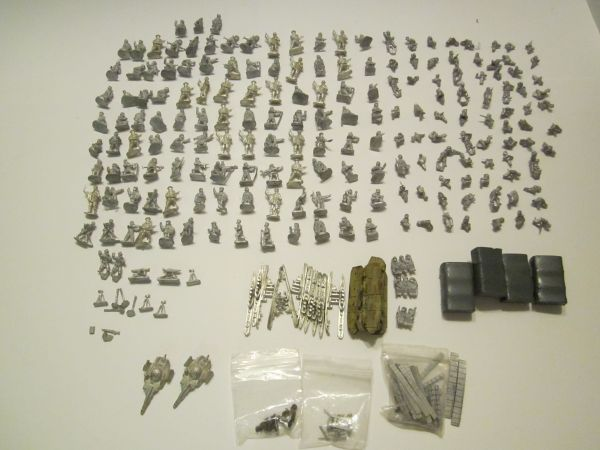 Military Metal Figures  - $50 (Chandler)