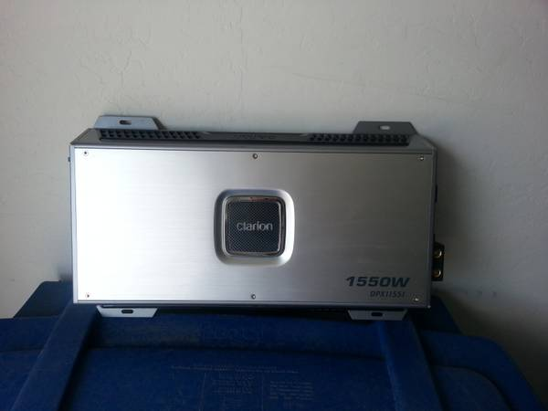 CLARION AMP Car Audio - $175 (CHANDLER)