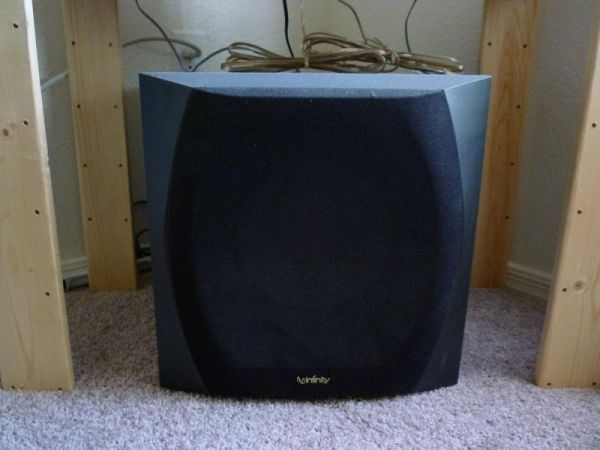 infinity entra sub. infinity entra 150500 watt subwoofer for home stereo use - $50 (ahwatukee) sub s