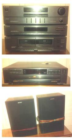 SONY COMPACT STEREO SYSTEM No. 2 - $90 (North Scottsdale)
