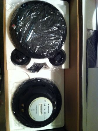 Rockford Fosgate P165-S 6.5 2-way component set - $100 (36th street and Baseline)