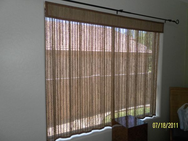 Beautiful Brand New Woven Wood Drapes - $50 (San Tan Valley)