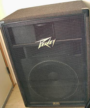 PEAVEY SPEAKERS SUBS  MONITOR - $100 (BELL RD  16TH ST)