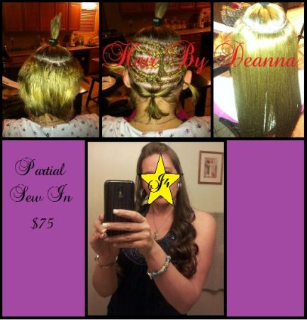 ----- ----- SEW IN WEAVE ----- ----- (_____ SURPRISE _____)