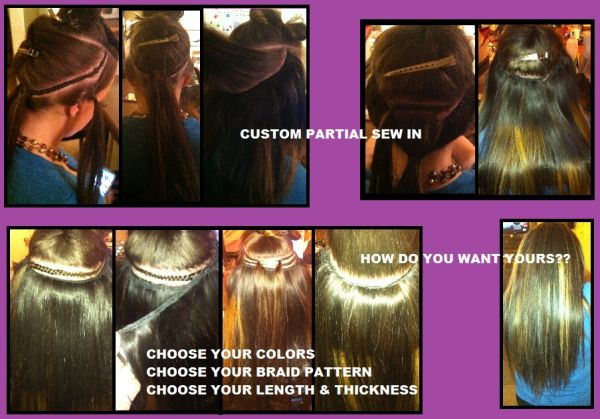 ----- -----  SEW IN WEAVE  ----- -----(special weekday prices m-f) (----- ----- SURPRISE - (247))