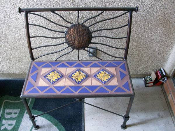 Wrought iron furniture tucson for sale for Used patio furniture tucson