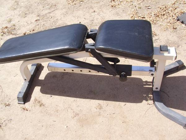 Powerhouse Fitness Weight Bench Espotted