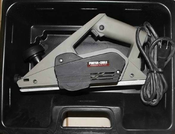 Porter Cable Door Planer Espotted
