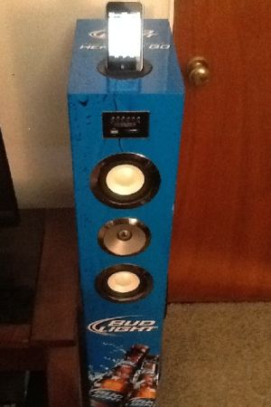 Offer Up Phoenix Az >> Bud light speaker tower for sale