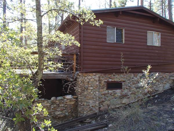 $69900  2br - 800ftsup2 - Cabin in tall pines of Horsethief Basin (Crown King)