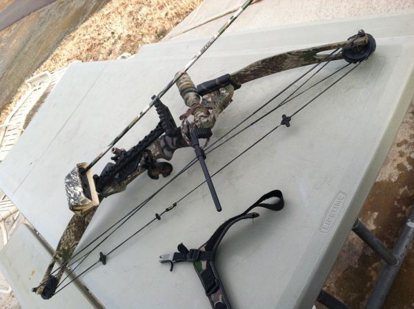 PSE spyder compound bow - $200 (Prescott)