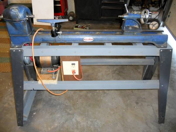 WOOD LATHE by DUNLAP Sears Roebuck  Company with TOOLS - $195 (Prescott)