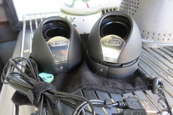 X mini Speakers- Sound Beyond Size- NEW - $15 (Prescott)