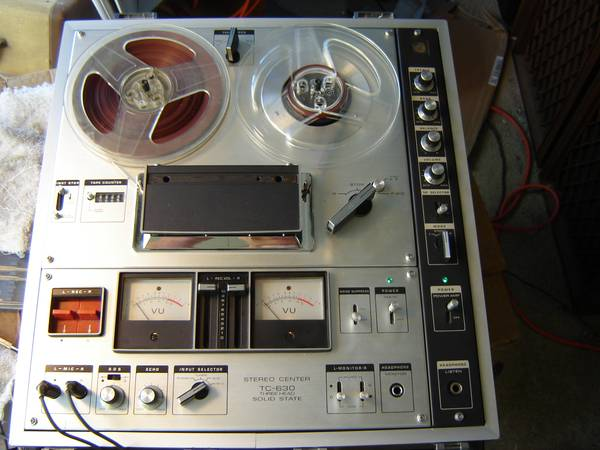Sony TC-630 Reel to Reel Tape Recorder - $150 (Prescott)
