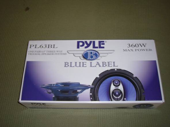 Pyle car speakers - $50 (lake montezuma)