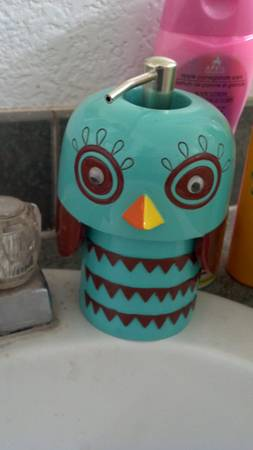 owl bathroom set - $45 (Chino Valley)
