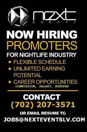 NEXT EVENTS PROMOTIONS TEAM (LAS VEGAS)