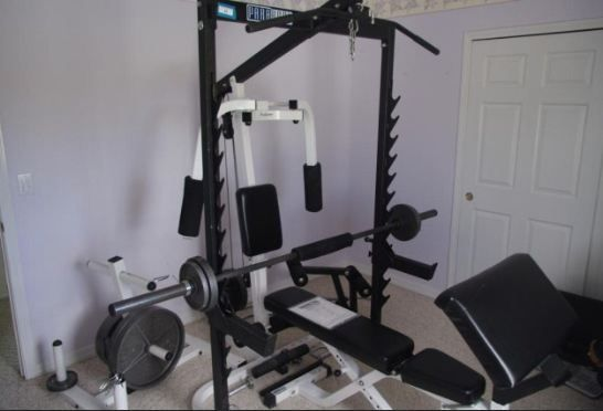 Parabody Workout Bench Espotted