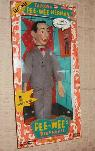 1987 17  tall talking PEE WEE HERMAN doll from MATCHBOX  -  60  Williamson Valley Rd and Outer Loop Rd