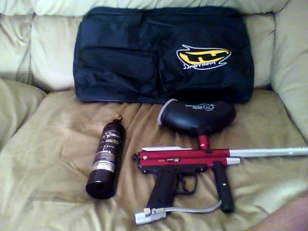 Piranha R6 Paintball gun - $210 (Salem, Utah)