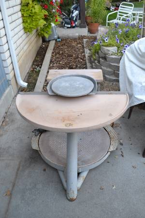 LOCKERBIE POTTERS WHEEL - $285 (Orem)