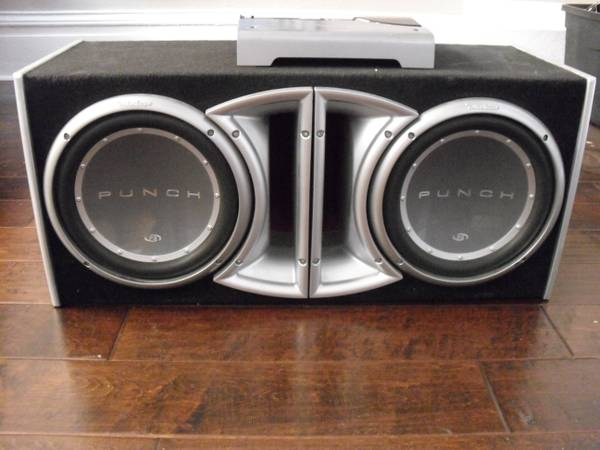 Two 12 Rockford Fosgate Punch stage 2 - $500 (Provo UT)