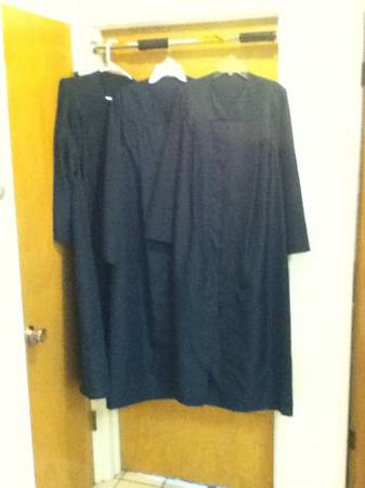 BYU Graduation Cap and Gown - $15 (Provo (by Brick Oven))