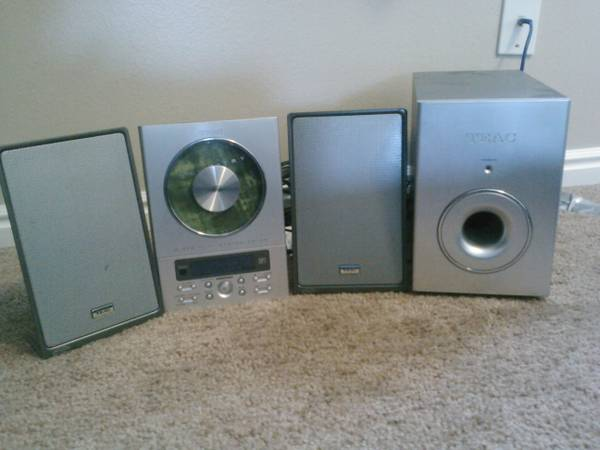 TEAC CD-X9 Micro Hi-Fi System CD Player - $70 (South State Street, Provo UT)