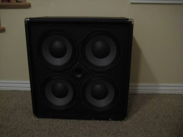 Acoustic B410 400w 4x10 Bass Cabinet wHF Horn - $149 (Springville)